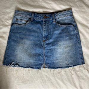 Urban Outfitters BDG Denim Jean Skirt